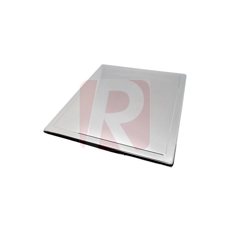 Tapa Encimera Inox Con Dibujo Perfil 610520 Repáralos